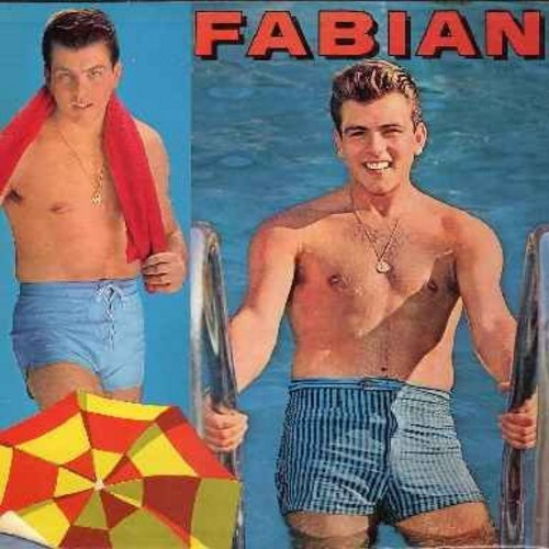 Fabian - Good Old Summertime: My Blue Heaven, Memories Are Made Of This, Ain't She Sweet, I Can't Give You Anything But Love (vinyl MONO LP record) - VG7/VG7 - LP Records