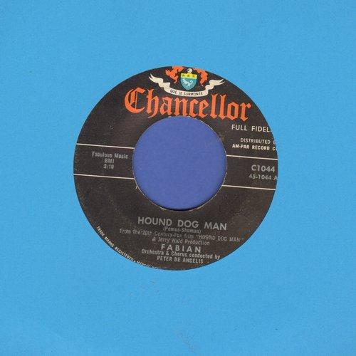 Fabian - Hound Dog Man/This Friendly World  - EX8/ - 45 rpm Records