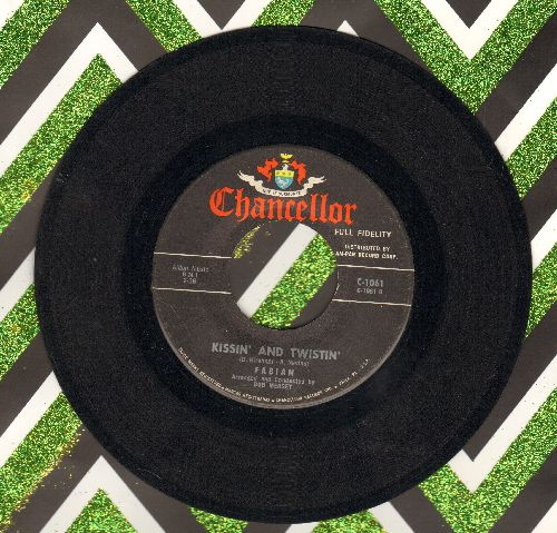 Fabian - Kissin' And Twistin'/Long Before  - EX8/ - 45 rpm Records