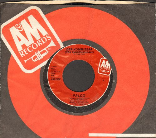 Falco - Der Kommissar/Helden von heute (Alles wartet auf) (with A&M company sleeve) - NM9/ - 45 rpm Records