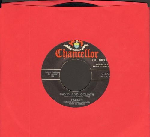 Fabian - David And Goliath/Grapevine - EX8/ - 45 rpm Records
