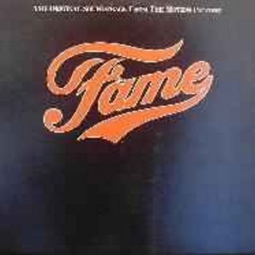 Cara, Irene & Cast - Fame: Original Motion Picture Sound Track (vinyl LP record) - NM9/EX8 - LP Records