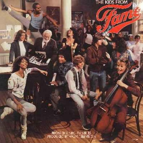 Kids From Fame - The Kids From Fame - From the 1980s TV Series (vinyl STEREO LP record, gate-fold cover) - NM9/EX8 - LP Records