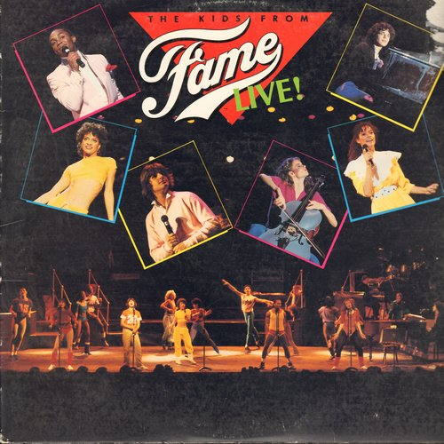 Kids From Fame - The Kids From Fame LIVE!: Friday Night, Starmaker, Life Is A Celebration, We Got The Power, Fame (vinyl STEREO LP record) - EX8/VG7 - LP Records