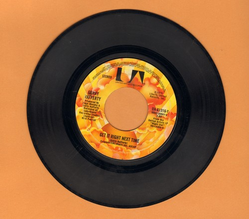 Rafferty, Gerry - Get It Right Next Time/It's Gonna Be A Long Night - VG7/ - 45 rpm Records