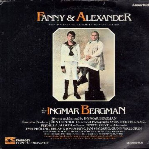 Fanny And Alexander - Fanny And Alexander - The 1982 Ingmar Bergamn Oscar Winner in Swedish with Englsih Subtitles - THIS IS A SET OF 2 LASER DISCS, NOT ANY OTHER KIND OF MEDIA! - NM9/EX8 - Laser Discs