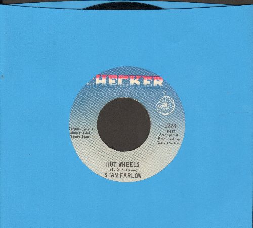 Farlow, Stan - Hot Wheels/1040 Blues (FANTASTIC Country-Novelty 2-sider!) - NM9/ - 45 rpm Records
