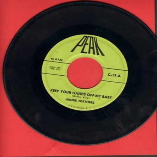 Feathers, Jeannie - Keep Your Hands Off My Baby/Release Me (by Ginny Starr on flip-side) - VG7/ - 45 rpm Records