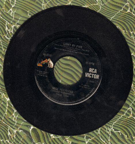 Feliciano, Jose - Light My Fire/California Dreamin'  - VG7/ - 45 rpm Records
