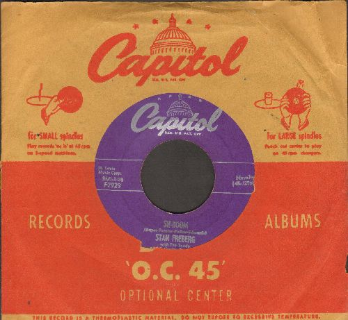 Freberg, Stan - Sh-Boom/Wide-Screen Mama Blues (with vintage Capitol company sleeve) - VG7/ - 45 rpm Records