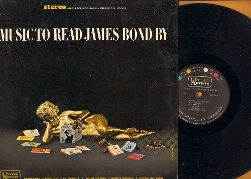Ferrante & Teicher, John Barry, Perez Prado, Al Caiola, others - Music To Read James Bond By: The James Bond Theme, 007, Goldfinger, Golden Girl, From Russia With Love (vinyl STEREO LP record) - NM9/EX8 - LP Records