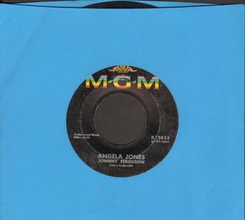 Ferguson, Johnny - Angela Jones/Blue Serge And White Lace - VG7/ - 45 rpm Records