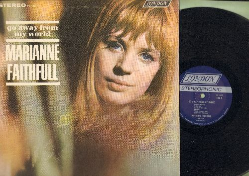 Faithfull, Marianne - Go Away From My World: Yesterday, Scarborough Fair, Lullabye, Summer Nights, Sally Free And Easy (vinyl STEREO LP record) - EX8/NM9 - LP Records