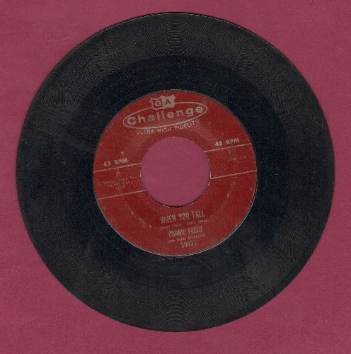Freed, Connie - When You Fall/Things They Don't Teach You In School - VG7/ - 45 rpm Records
