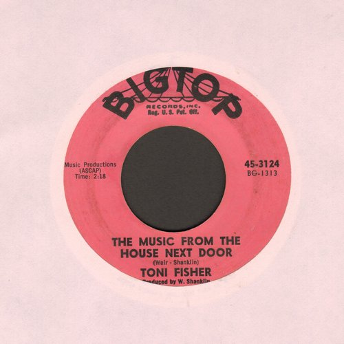Fisher, Toni - The Music From The House Next Door/Quickly My Love - VG7/ - 45 rpm Records