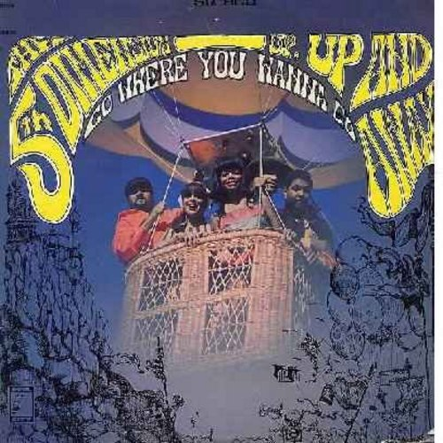 Fifth Dimension - Up, Up And Away - Go Where You Wanna Go: Poor Side Of Town, Which Way To Nowhere, Learn How To Fly, Misty Roses (vinyl STEREO LP record) - EX8/VG7 - LP Records