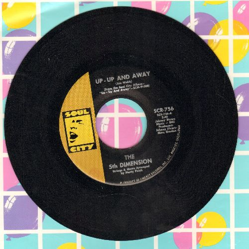 Fifth Dimension - Up - Up And Away/Which Way To Nowhere (MINT condition) - M10/ - 45 rpm Records