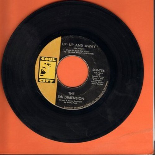 Fifth Dimension - Up - Up And Away/Which Way To Nowhere - EX8/ - 45 rpm Records