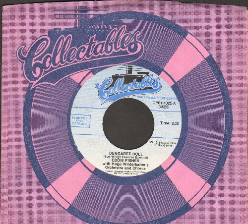 Fisher, Eddie - Cindy, Oh Cindy/Dungaree Doll (double-hit re-issue with Collectables company sleeve) - NM9/ - 45 rpm Records