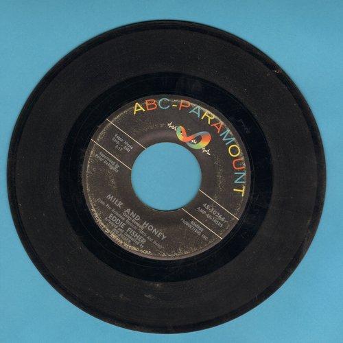 Fisher, Eddie - Milk And Honey/Shalom  - VG7/ - 45 rpm Records