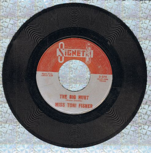 Fisher, Miss Toni - The Big Hurt/Memphis Belle - VG7/ - 45 rpm Records