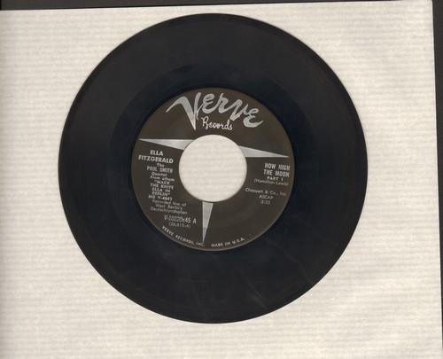 Fitzgerald, Ella - How High The Moon (Parts 1 + 2) - NM9/ - 45 rpm Records