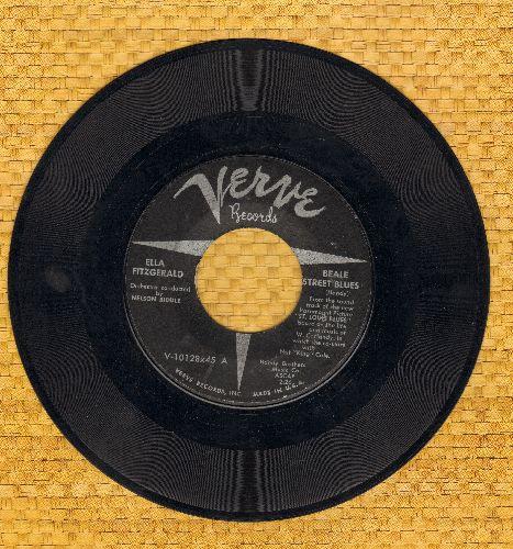 Fitzgerald, Ella - Beale Street Blues/St. Louis Blues (wol) - VG6/ - 45 rpm Records