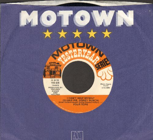 Four Tops - I Can't Help Myself/Ask The Lonely (double-hit re-issue with Motown company sleeve) - EX8/ - 45 rpm Records