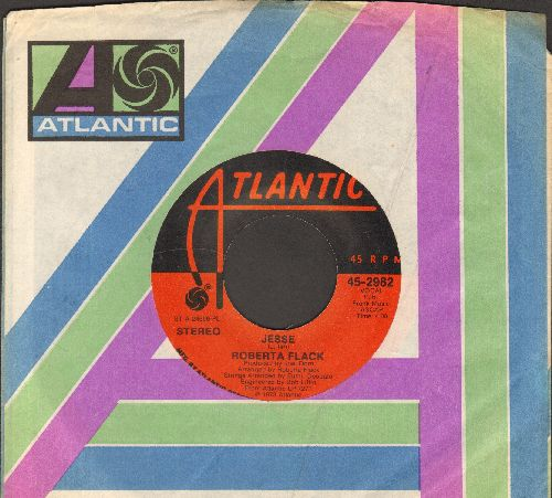 Flack, Roberta - Jesse/No Tears (In The End) (with Atlantic company sleeve) - NM9/ - 45 rpm Records