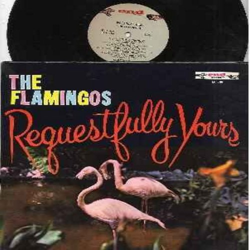 Flamingos - Requestfully Yours: In The Still Of The Night, When I Fall In Love, Tenderly, At Night, You'll Never Walk Alone, Beside You (vinyl Stereo LP record - 1970s re-issue of original 1950s recordings) - VG7/VG6 - LP Records