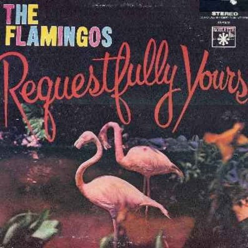 Flamingos - Requestfully Yours: In The Still Of The Night, When I Fall In Love, Tenderly, At Night, You'll Never Walk Alone, Beside You (vinyl LP record - 1984 re-issue of original 1950s recordings) - M10/NM9 - LP Records