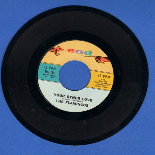 Flamingos - Your Other Love/Lovers Gotta Cry - M10/ - 45 rpm Records