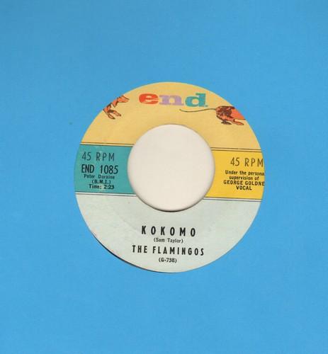Flamingos - Kokomo/That's Why I Love You  - EX8/ - 45 rpm Records