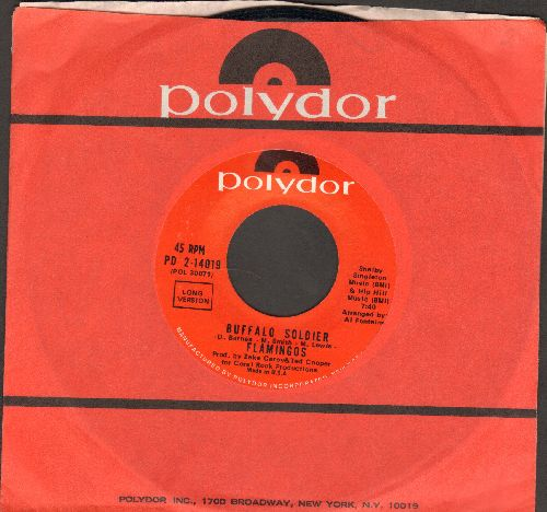 Flamingos - Buffalo Soldier (LONG and SHORT version) - NM9/ - 45 rpm Records