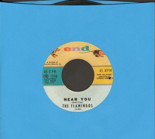 Flamingos - Near You/For All We Know (bb) - VG7/ - 45 rpm Records