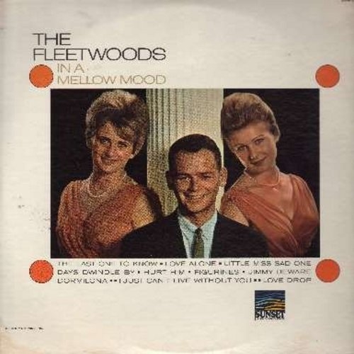 Fleetwoods - In A Mellow Mood: Little Miss Sad One, Jimmy Beware, Dormilona, Figurines, The Last One To Know (vinyl MONO LP record) - NM9/EX8 - LP Records