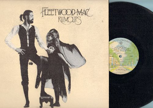 Fleetwood Mac - Rumors: Don't Stop (Thinking About Tomorrow), Songbird, Second Hand News, You Make Loving Fun, Gold Dust Woman (vinyl LP record, 1977 first pressing) - NM9/VG7 - 45 rpm Records