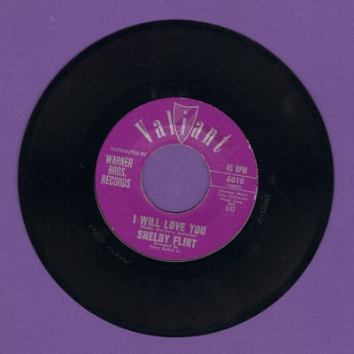 Flint, Shelby - I Will Love You/Every Night - NM9/ - 45 rpm Records