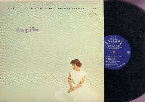 Flint, Shelby - Shelby Flint: Angel On My Shoulder, Hi-Lili Hi-Lo, Danny Boy, The Riddle Song, Lavender Blue (vinyl MONO LP record) - EX8/EX8 - LP Records