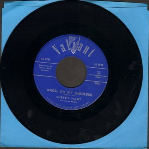 Flint, Shelby - Angel On My Shoulder/Somebody (with juke box label) - NM9/ - 45 rpm Records