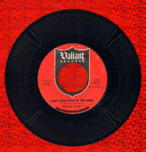 Flint, Shelby - Cast Your Fate To The Wind/The Lily - NM9/ - 45 rpm Records