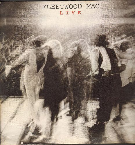 Fleetwood Mac - Fleetwood Mac LIVE: Say You Love Me, Sara, Landslide, Don't Stop (2 vinyl LP records, gate-fold cover) - VG7/VG6 - LP Records