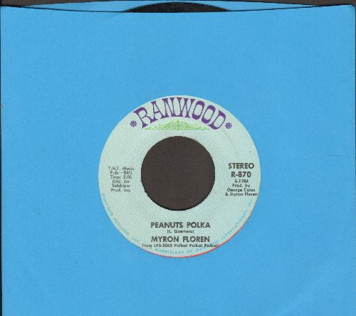 Floren, Myron - Peanuts Polka/It's A Small World - NM9/ - 45 rpm Records