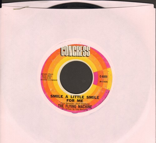 Flying Machine - Smile a Little Smile For Me (Rosemarie)/Maybe We've Been Loving Too Long  - VG7/ - 45 rpm Records