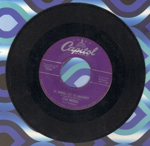 Freberg, Stan - St. George And The Dragonet/Little Blue Riding Hood  - VG7/ - 45 rpm Records