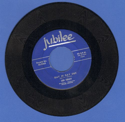 Foley, Joe - Day In Day Out/More Than Anyone Else - EX8/ - 45 rpm Records