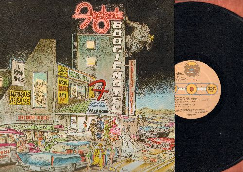Foghat - Boogie Motel: Third Time Lucky (First Time I Was A Fool), Paradise Alley, Love In Motion (vinyl STEREO LP record) - NM9/EX8 - LP Records