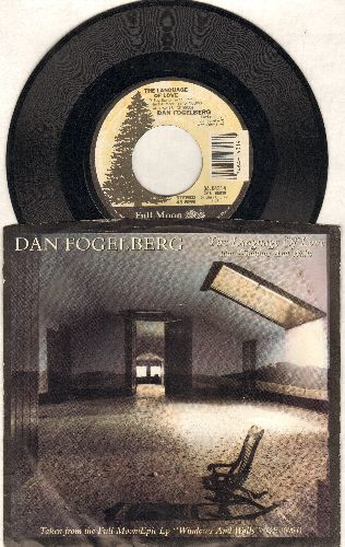 Fogelberg, Dan - The Language Of Love/Windows And Walls (with picture sleeve) - EX8/VG7 - 45 rpm Records