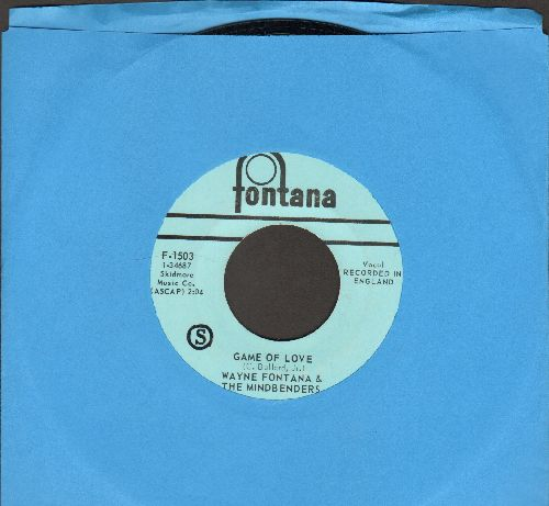Fontana, Wayne & The Mindbenders - Game Of Love/One More Time  - NM9/ - 45 rpm Records