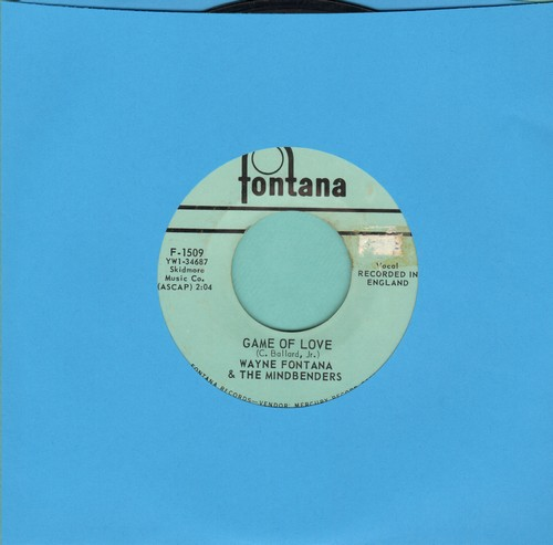 Fontana, Wayne & The Mindbenders - Game Of Love/One More Time (bb) - EX8/ - 45 rpm Records